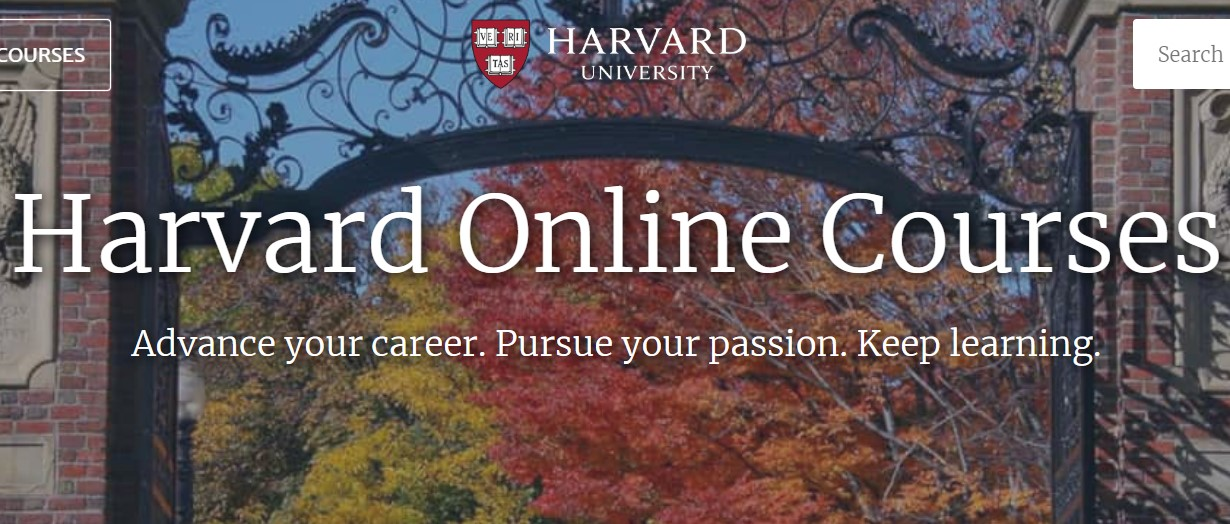 Free Courses Offered from Harvard University