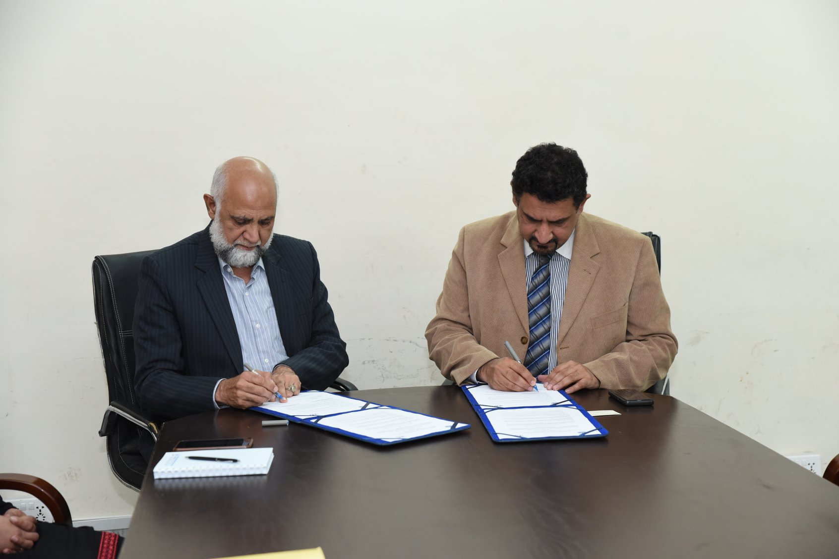 ORIC Signed MOU with Pakistan Institute of Management (PIM)