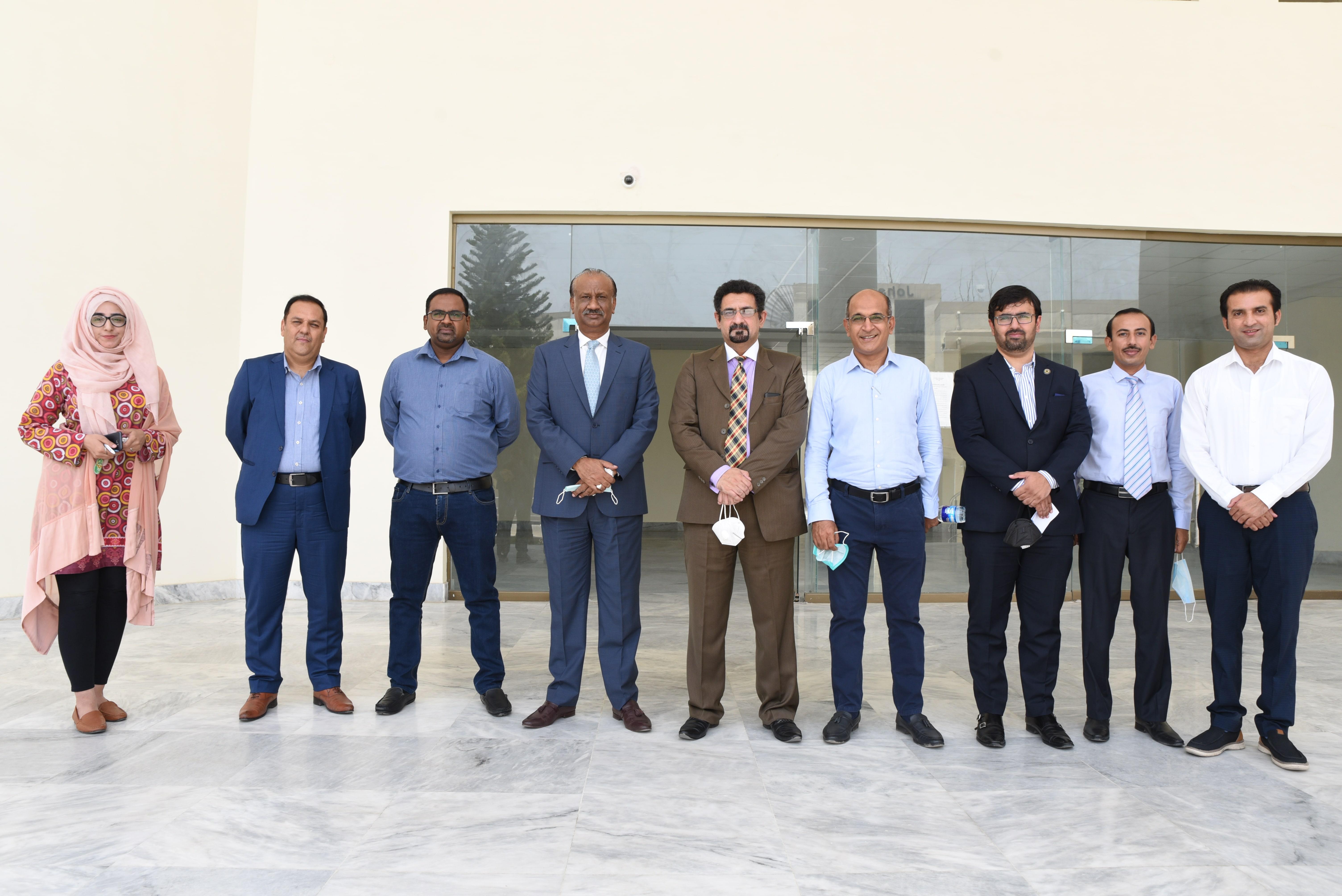 Steering Committee Held Between BICON & Rawalpindi Chamber of Commerce and Industries (RCCI)